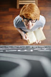 Studying at college Stock Photography