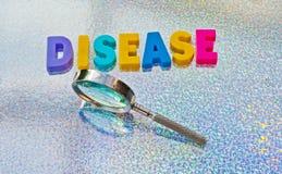 Studying disease Royalty Free Stock Photo