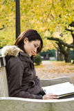 Studying girl Stock Image