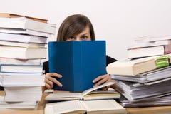 Studying Girl Stock Photo