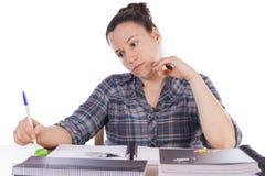 Studying. Stock Image