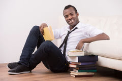 Studying at home. C Royalty Free Stock Photography