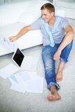 Studying at home Royalty Free Stock Photography