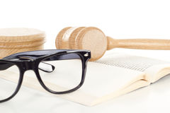 Studying jurisprudence at university Royalty Free Stock Images