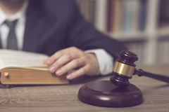 Studying law Stock Images