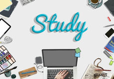 Studying Learning Education Student Insight Concept Royalty Free Stock Photo