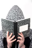 Studying Marble Notebook Stock Image