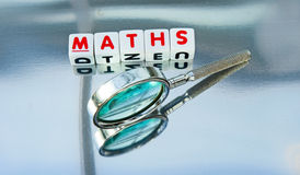 Studying mathematics Stock Photo