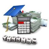 Studying and money Stock Photo