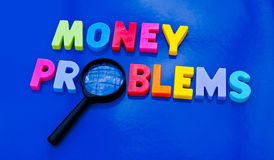 Studying money problems Stock Photography