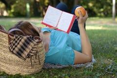 Studying outdoors Stock Photos