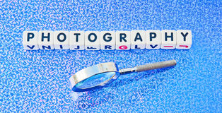 Studying photography Royalty Free Stock Photos