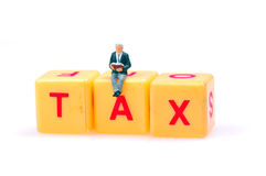 Studying tax Stock Images