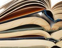Studying Textbooks Stock Photo