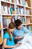 Studying together Stock Image