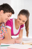 Studying together. Stock Photo