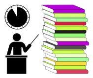 Studying under Pressure. Stock Image