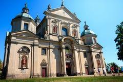Studzianna教会波兰 免版税图库摄影