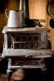 Stufa d'annata del ferro fotografia stock