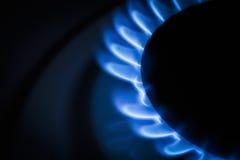 Stufa di gas del bruciatore Fotografie Stock