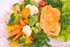Stufato con le verdure Immagine Stock