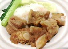 Stufato della carne di maiale Fotografie Stock