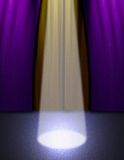 Stufe-Leuchte lizenzfreie abbildung