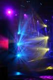 Stufe-Leuchten stockfoto