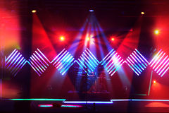 Stufe-Leuchten mit LED-Auslegung Stockfotos