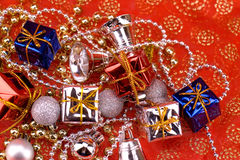 Stuff for christmas royalty free stock images