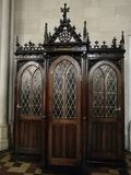 Stuff in church. Zagreb. Achitecture. Travelling. Capital. Croatia Stock Images