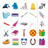 Stuff + vector file Stock Photos
