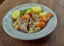 Stuffat tal-Fenek. National dish of Malta Royalty Free Stock Photos
