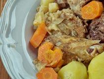 Stuffat tal-Fenek. National dish of Malta Stock Photography