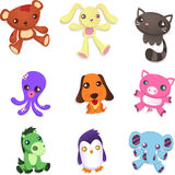 Stuffed animal collection Stock Photography