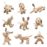 Stuffed animal dog Royalty Free Stock Images