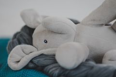 Stuffed Elephant stock photo