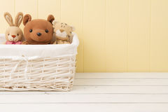 Stuffed animal toys Stock Image