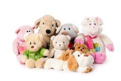 Stuffed animals Royalty Free Stock Photography