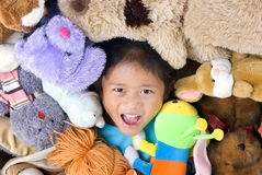 Stuffed Animals Royalty Free Stock Photos