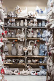 Stuffed animals at Macef home show in Milan Stock Images