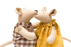 Stuffed animals - soft mouse royalty free stock photography