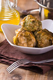 Stuffed artichokes. Royalty Free Stock Photography