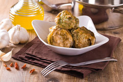 Stuffed artichokes. Stock Image