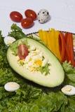 Stuffed Avocado Royalty Free Stock Photo