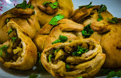Stuffed Baati royalty free stock photos