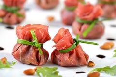 Stuffed beef ham Stock Images