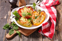 Stuffed bell pepper Royalty Free Stock Photo