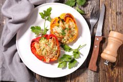 Stuffed bell pepper Royalty Free Stock Photography