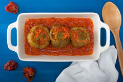 Stuffed Bell Peppers Royalty Free Stock Images